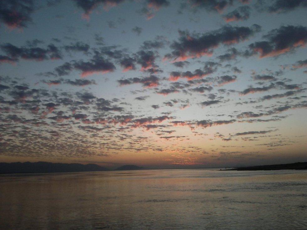 assam, brahmaputra, bishwanath, silent, river, sunset