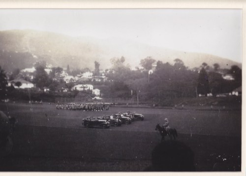 Army parade in Polo Ground (Photo courtesy George Richmond)
