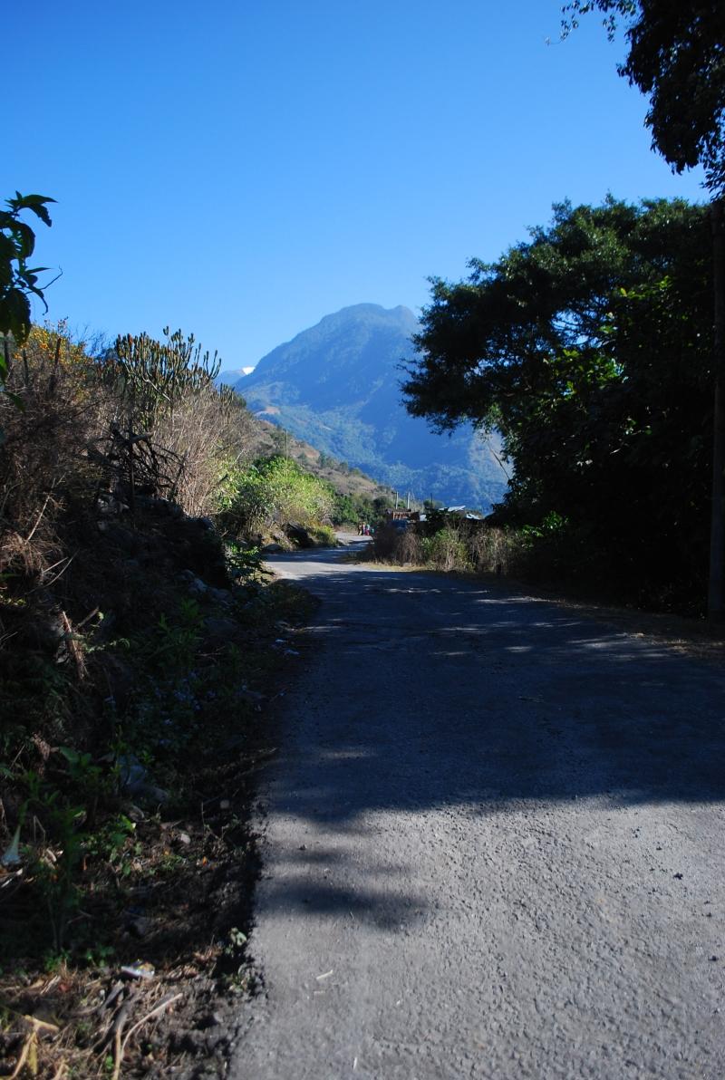 Road en-route to Walong.