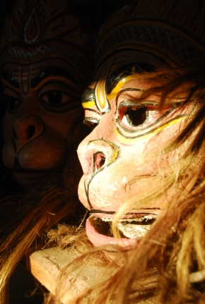 Photo Of The Day ~ Mask Makers Of Majuli