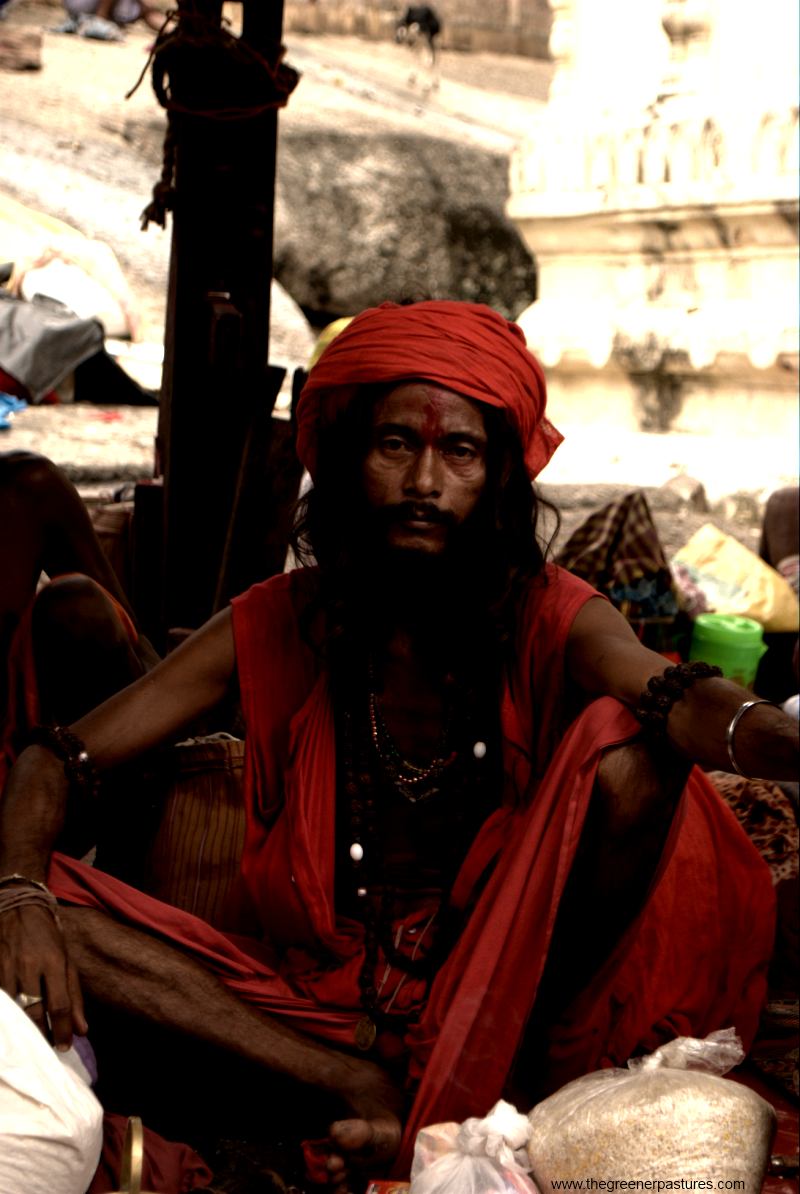 Sadhu at Ambubahi Mela-Kamakhya Temple Assam