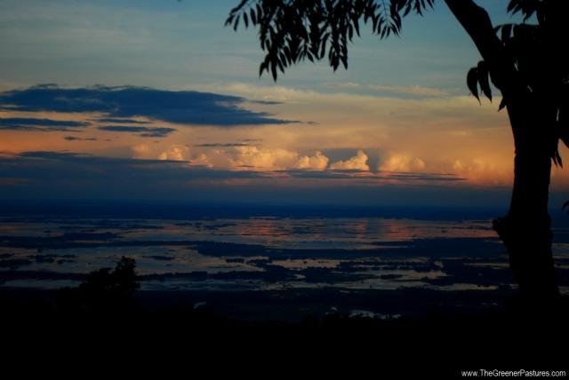 Bangladesh from Khasi Hills Of Meghalaya