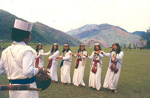 Dance of Aka Tribe in Arunachal Pradesh