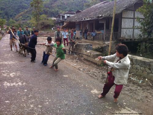 Festival in Ziro in Arunachal Pradesh