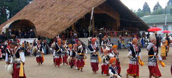 Nongkrem festival of Meghalaya