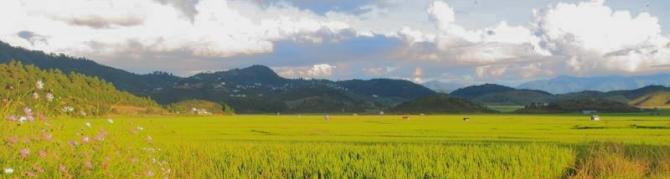 Mizoram Champhai Landscape
