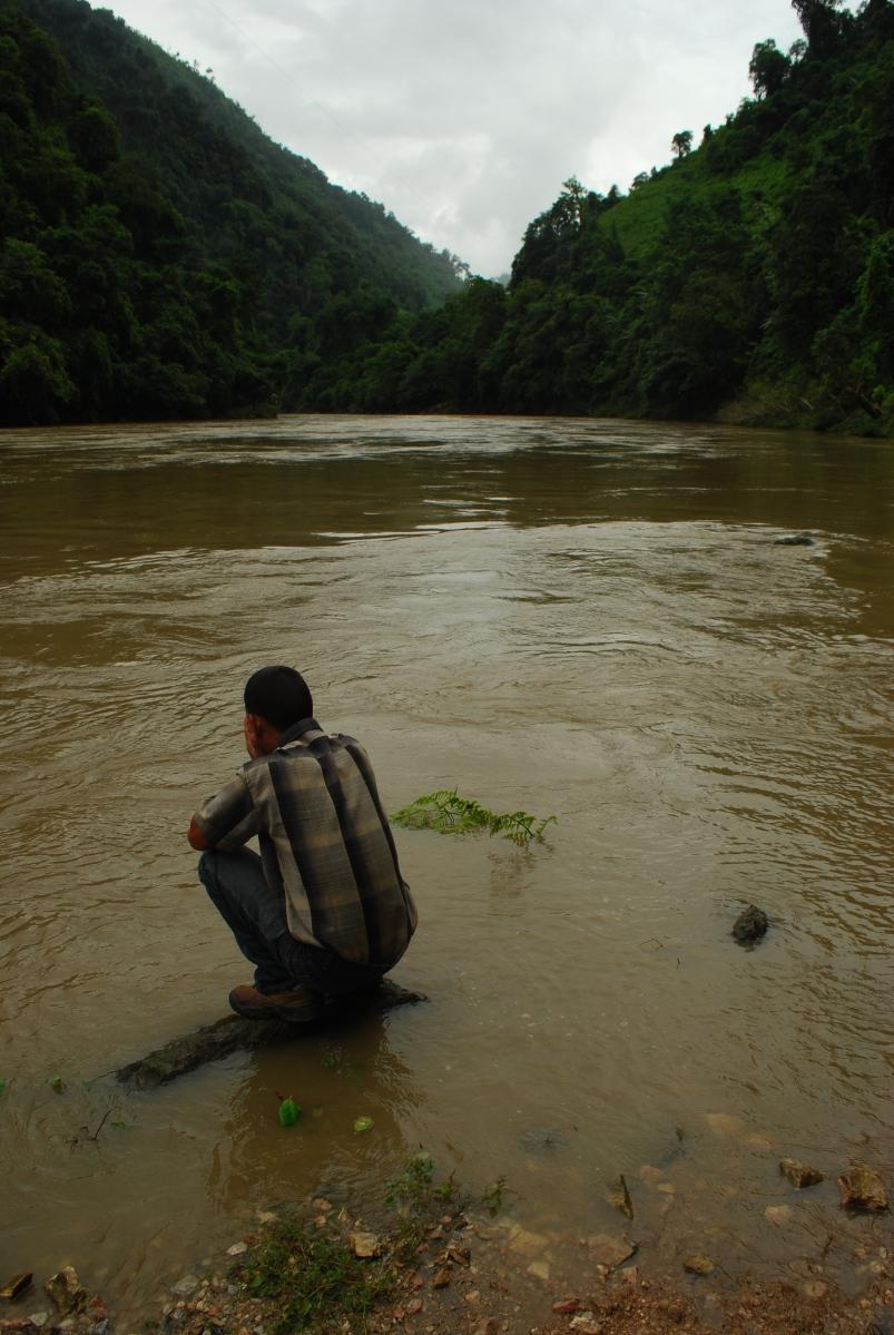 Subansiri River Daporijo Arunachal Pradesh