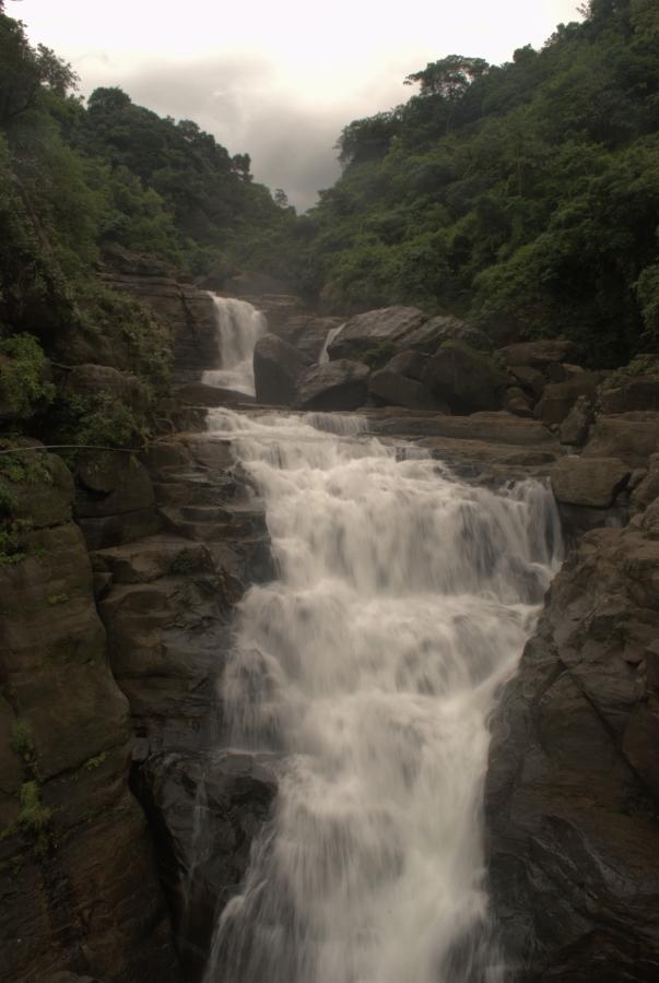 Waterfall on the way toward Dawki.