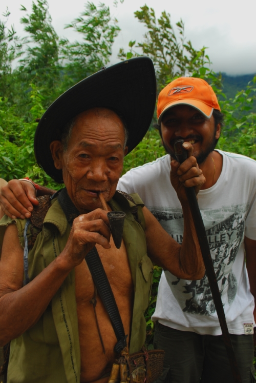 Arunachal Pradesh Tagin Tribe Elder