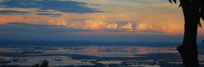 Bangladesh as seen from Mawlynnong