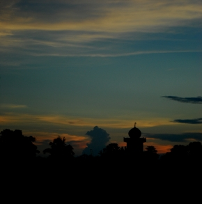 Photo Of The Day – Sunset In DibrugarhTown