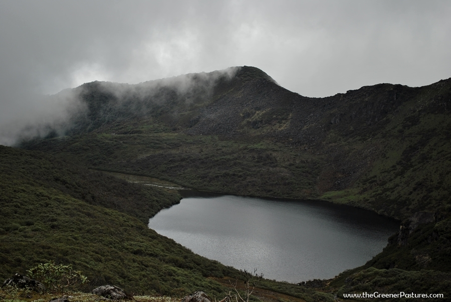 Lake in Tawang district in Arunachal Pradesh