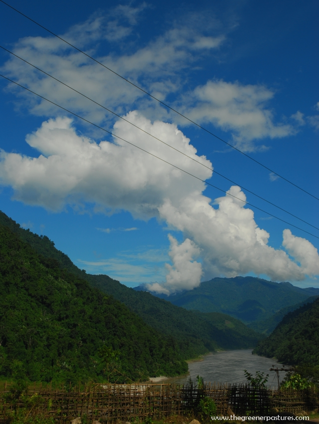 Siang (Tsangpo, Brahmaputra) River in Arunachal Pradesh, North-East India.