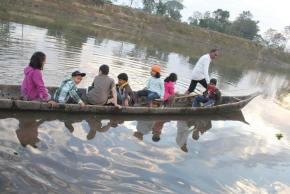 The Mighty Brahmaputra River And WeekendPicnics