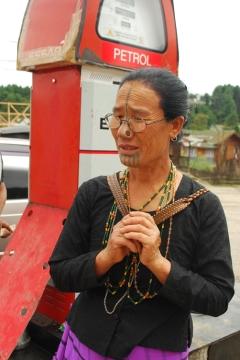 Apatani lady at Ziro
