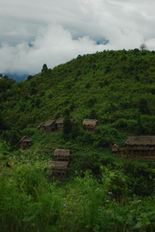 A very beautiful village