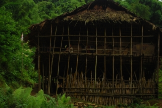 Typical house of a Tagin