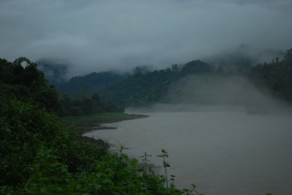 Carpeted mist over the Subansiri