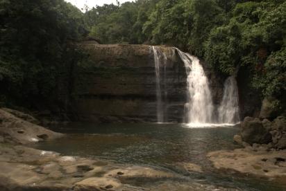 Another waterfall near Mawlynnong.