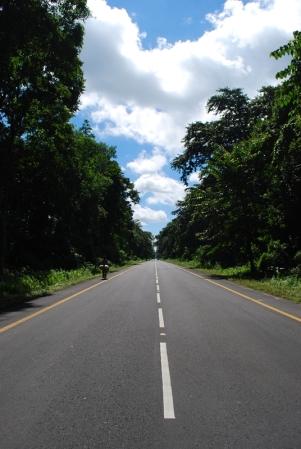 Good roads felt so welcoming.