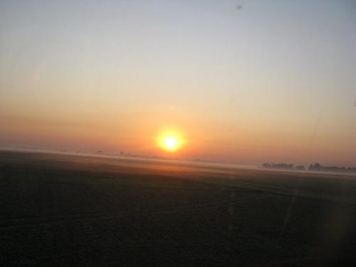 Sunset over the vast Manas National Park