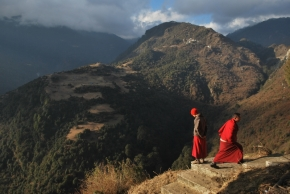 Photo Of The Day ~ Where Buddhism Soars High