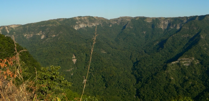 Remote & unexplored gorges of Balpakram National Park.