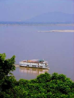 The cruise in its lower course near Guwahati.