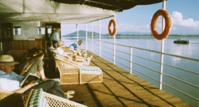 A Cruise in the Brahmaputra River of Assam