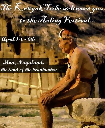 Aoling Festival Tour of Konyak Tribe - Nagaland Tourism