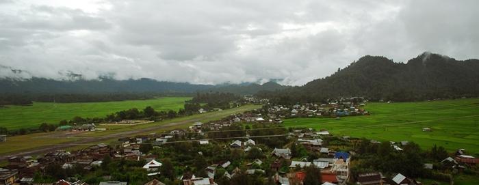 Landscape around Ziro