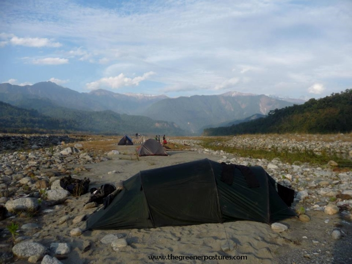 Camping in Namdapha National Park