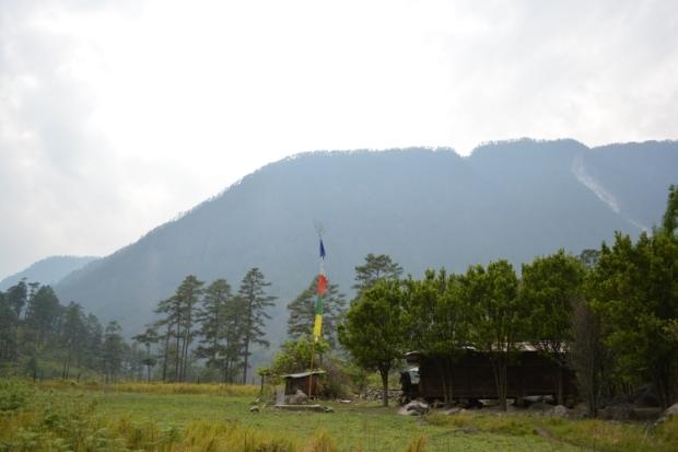 House of Meyor Tribe, Dong Village, Lohit Valley, Arunachal Pradesh.