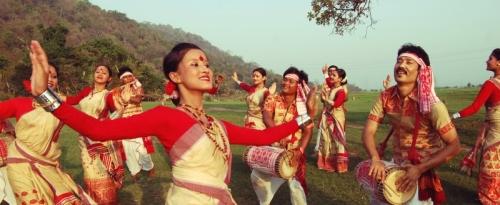 Bihu Festival Dance, Assam.