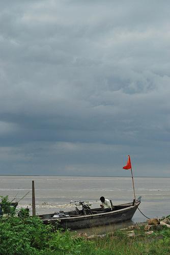 Assam Monsoons, India, Brahmaputra