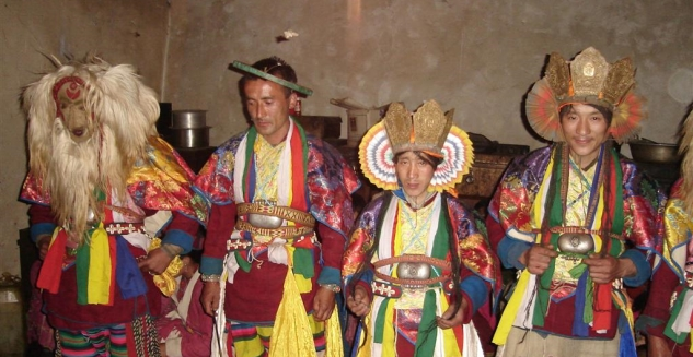 Ethnic Attire, Monpa Culture, Arunachal Pradesh