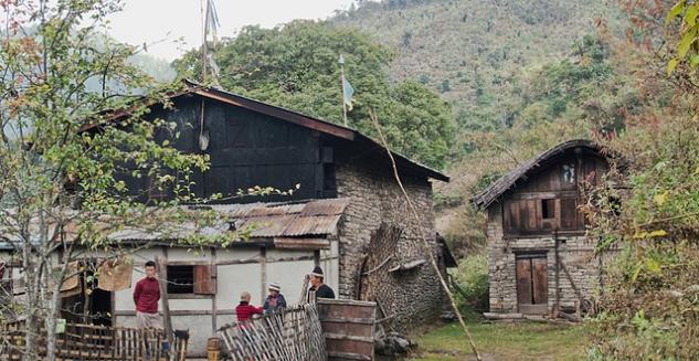 Monpa House, Thembang, Arunachal Pradesh