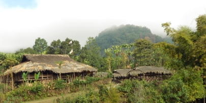 Adi Tribe Village, Siang Valley, Arunachal Pradesh