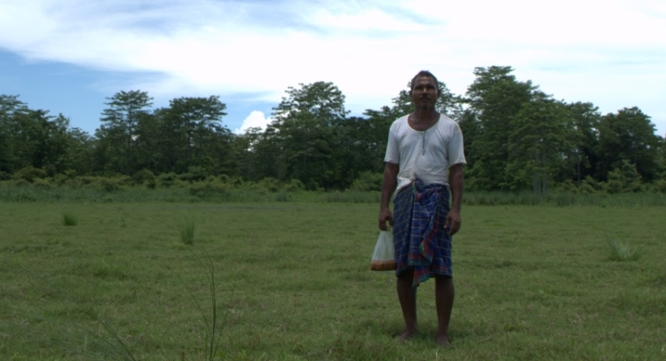 Jadav Payeng behind his forest, Assam