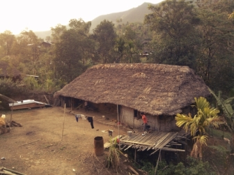 Konyak House, Mon, Nagaland