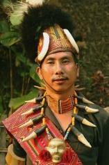 Konyak Tribe, Nagaland, Mon