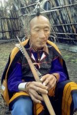 Shaman, Apatani Tribe, Arunachal Pradesh
