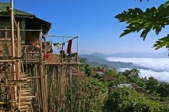 Angami Village, Nagaland
