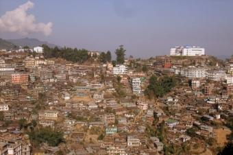 Kohima city, Nagaland