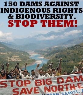 Stop dams in Arunachal Pradesh and Brahmaputra