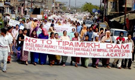 No to Tipamukh Dam