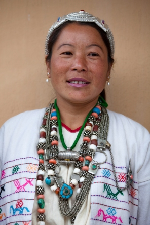 Khowa Tribal Lady, Arunachal Pradesh