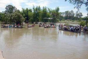 Lakhimpur Flood in 2008, Assam