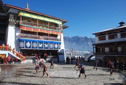 Losar Festival at Tawang Monastery, Arunachal Pradesh