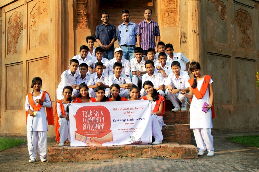 World Tourism Day, 2014, in Rang-ghar, Sivasagar